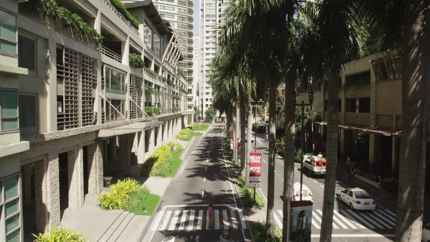 MANILA, PHILIPPINES - MAY 19, 2012: Inside the Geenbelt Commercial Complex | Shutterstock HD Video #17606656