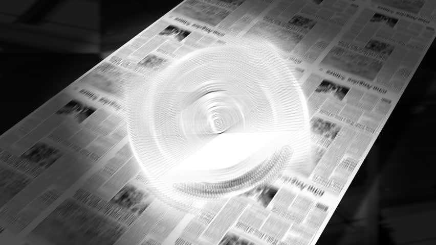 Blank - Newspaper Headline Intro + Loops #1763714