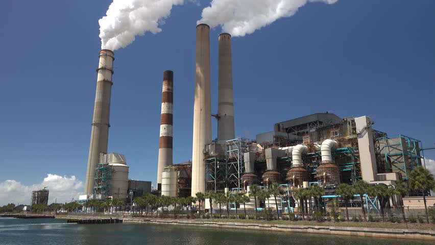 nuclear power plant  turkey point stock footage video  shutterstock