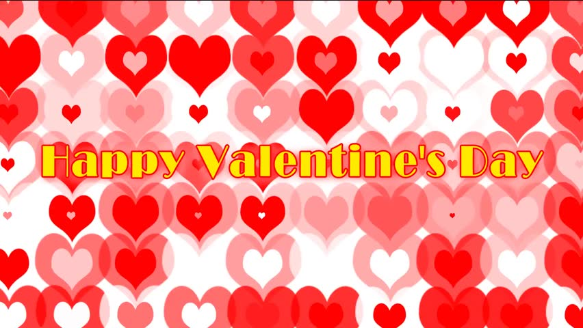 Hearts Wedding Video With Animated Effect Background For Your And
