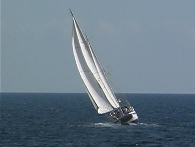 Yacht at sea 2