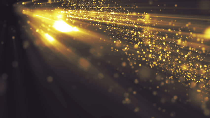 stock video of background gold with rays in spacewaves 17893816 shutterstock