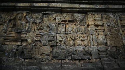 Borobudur Temple Walls Dolly