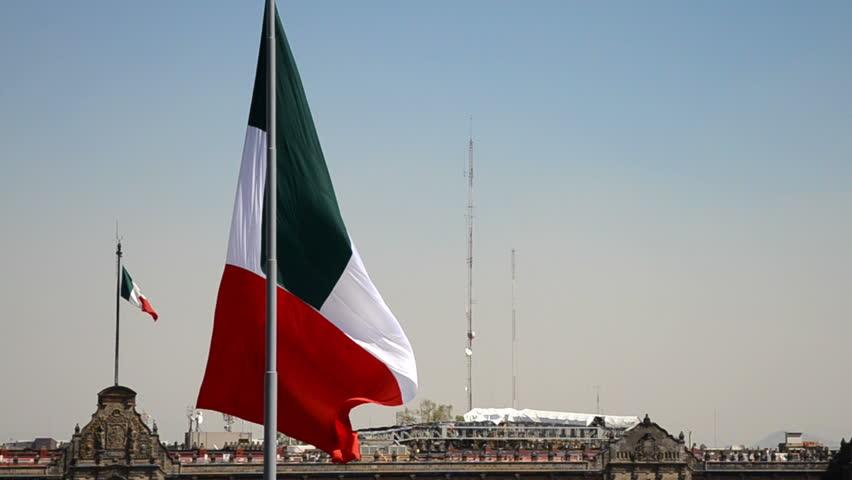 Big Mexico flag