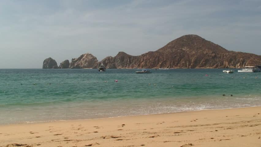 Wide View of Sea Cabo San Lucas, Mexico