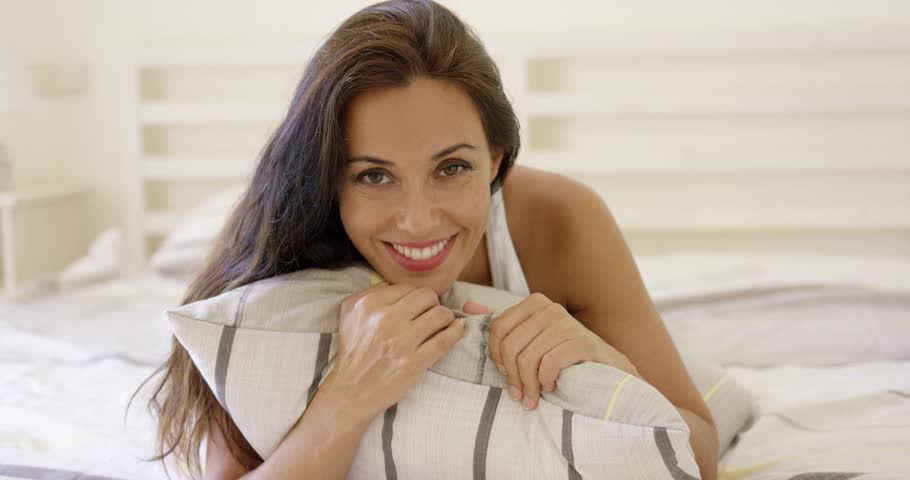 Mature Woman Relaxing At Home Sitting On Couch Stock Footage Video 9572162  Shutterstock-9675