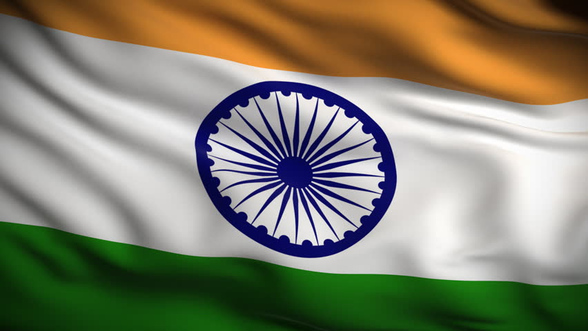Indian Flag Images Hd720p: Flag Of India Beautiful 3d Animation Of India Flag In Loop