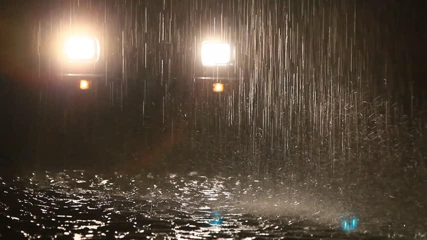 Heavy Rain Ecuadorian Video Clip & HD Footage | Bigstock