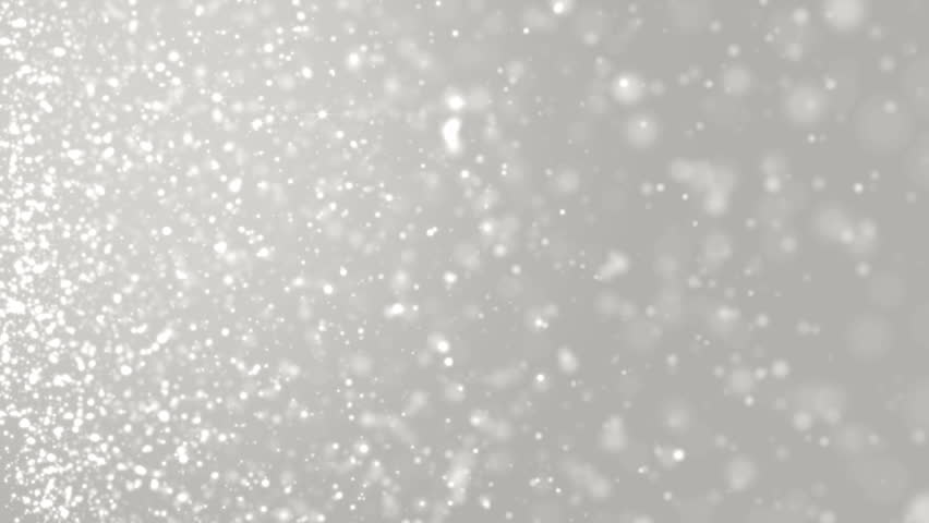 Elegant Silver Abstract With Snowflakes Christmas Animated