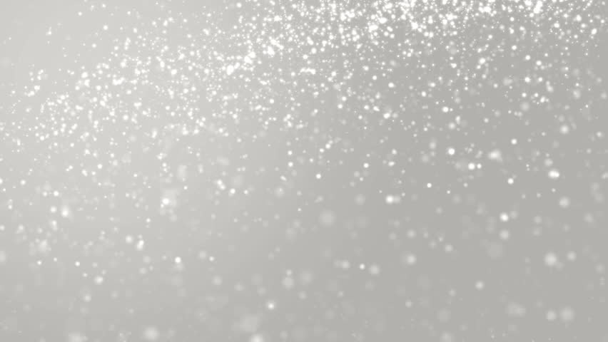 elegant silver abstract with snowflakes christmas stock