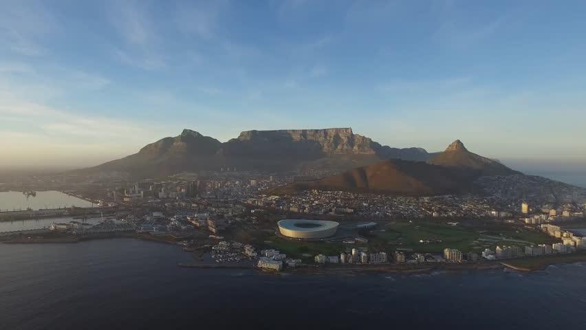 Aerial Cape Town
