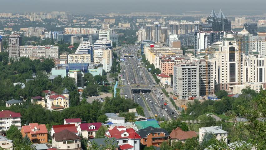 Almaty, Kazakhstan - July, 2016: Stock Footage Video (100%