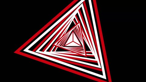 Triangle Tunnel Vj Loop