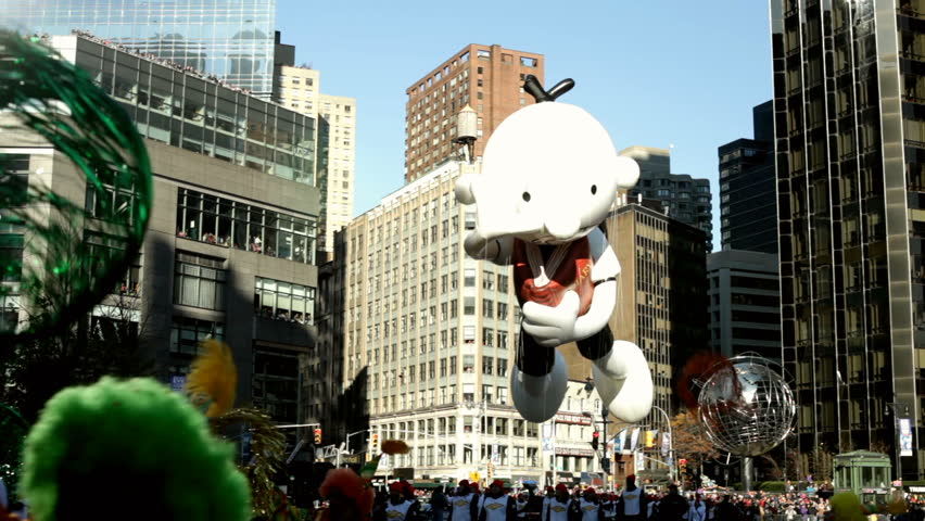 NEW YORK CITY, NY - NOVEMBER 24: Diary of a Wimpy Kid Balloon in the Macy's 85th Annual Thanksgiving Day Parade on November 24, 2011 in New York City, New York.