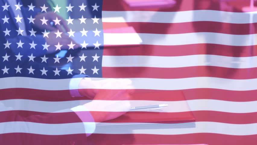 US Flag Stylized Grunge Flag Of United States Of America With - Hd us election map