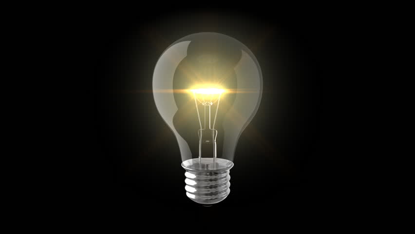 Loopable and Keyable animation of a Incandescent Light Bulb spinning. View my portfolio for more light bulb videos. | Shutterstock HD Video #18566426