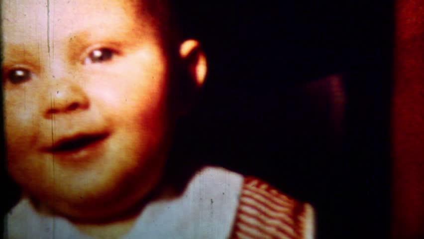 Child close-up- Vintage Film