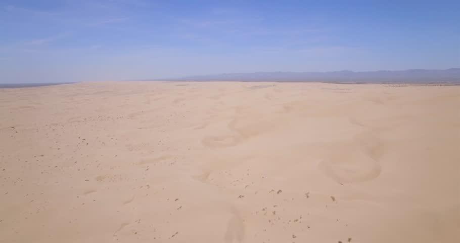 Desolate Desert Sand Dunes Aerial Stock Footage Video 100 Royalty Free 18629006 Shutterstock