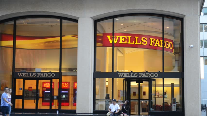 NEW YORK - CIRCA AUGUST 2016. Many politicians are advocating reinstating the Glass Steagall Act, which separated commercial and investment banking activities at banks such as Wells Fargo