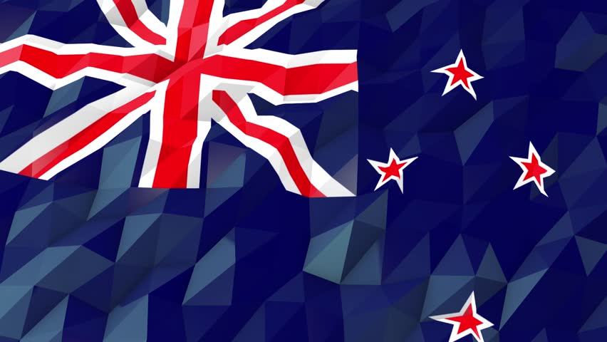 Flag Of New Zealand 3d Stock Footage Video 100 Royalty Free