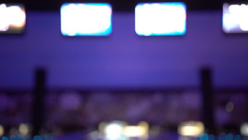 Blurred Bowling Score