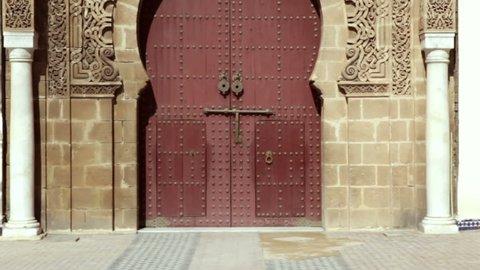 entrance - Old city Meknes (Miknasa), Morocco.
