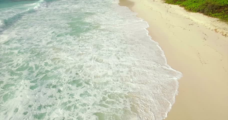 White sand beach and blue sky. | Shutterstock HD Video #19125676