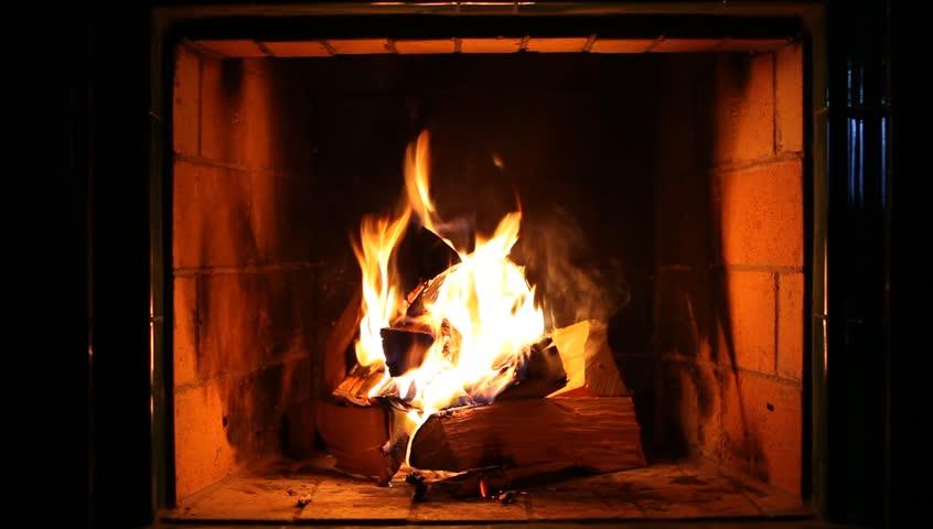 Fireplace Stock Footage Video | Shutterstock