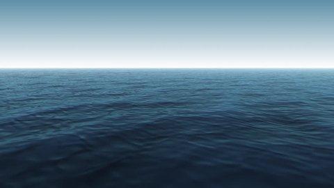 CG Blue Ocean Scene