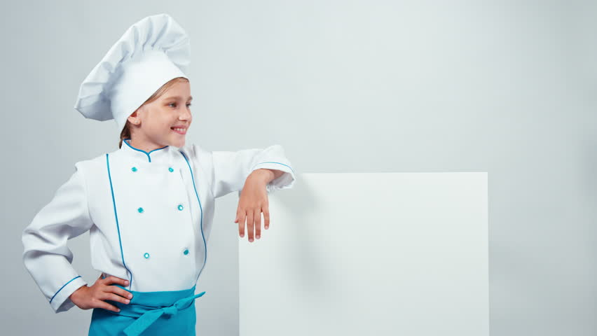 Chef Cook Child Near the Stock Footage Video (100% Royalty-free) 19304926 |  Shutterstock