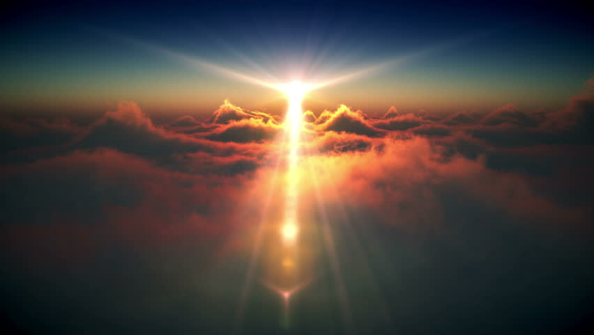 beautiful sunrise and space - photo #26