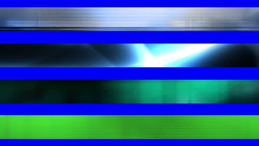 Lower third one GBS Abstract looping Lower Thirds, use cropping or masking to separate Lower Thirds. The green screen is there and will work on some but best to use cropping or masking to select. | Shutterstock HD Video #19495276