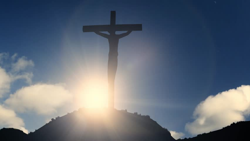 Cross On a Hill Crucifixion Stock Footage Video (100% Royalty-free)  19583686   Shutterstock