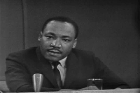 Martin Luther King comments on John Kennedy\xCDs legislation in 1963 (1960s)
