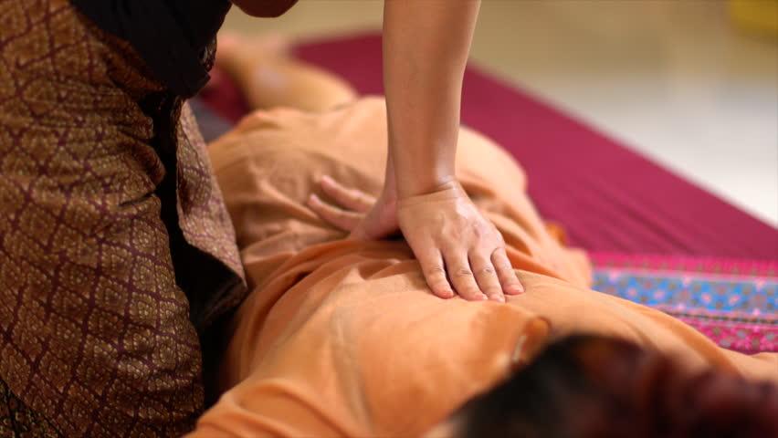 Thai back Massage, Spa Concept | Shutterstock HD Video #19878217