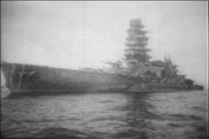 The Japanese Battleship Nagato, One Stock Footage Video (100% Royalty-free)  19893856 | Shutterstock