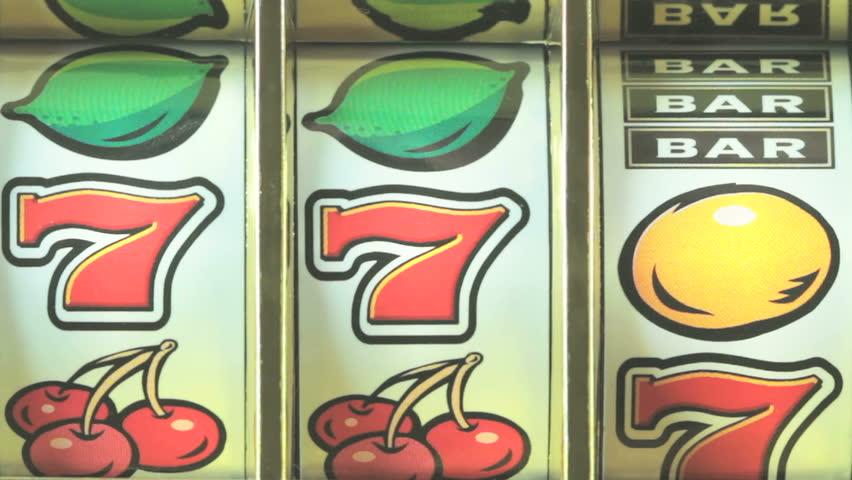 Retro fruit machine close up    Shutterstock HD Video #1998377