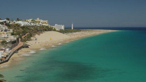 Fuerteventura Beach - Playa de la Cebada, Morro Jable, Canary Islands