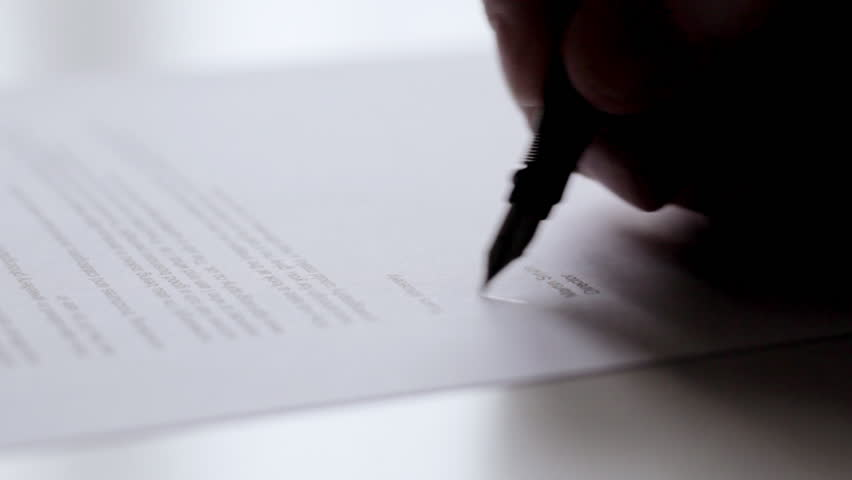 Signing Letter