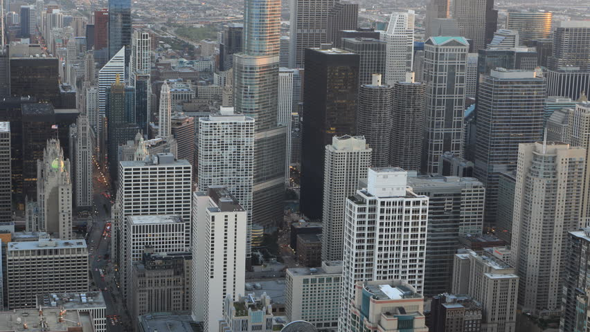4K UltraHD Aerial timelapse of the Chicago, Illinois city center     Shutterstock HD Video #20166106