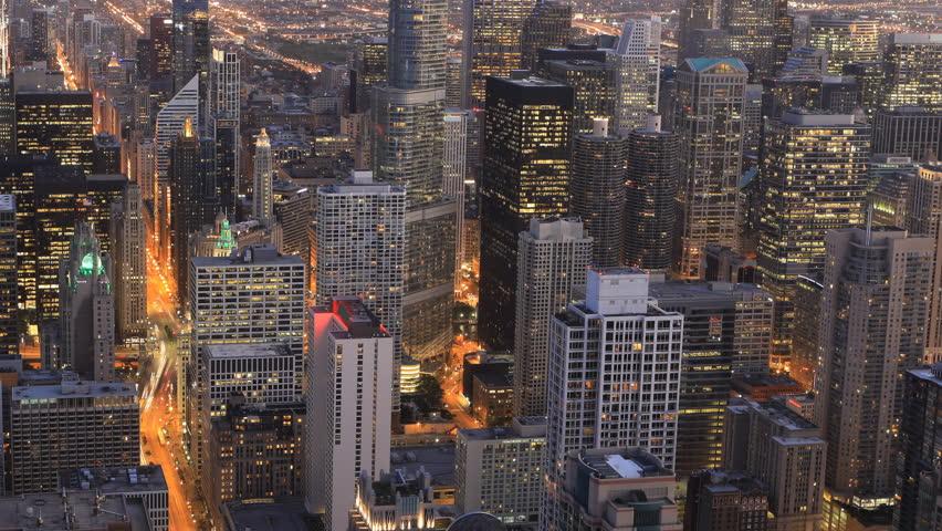 4K UltraHD Aerial timelapse of the Chicago, Illinois city center   | Shutterstock HD Video #20166106