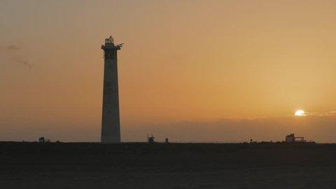 Sunrise at Jandia Lighthouse, Fuerteventura, Canary Islands, Spain