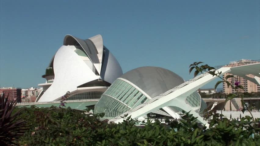 Ciudad de las artes y ciencias valencia, Spain - Futuristic museum design #20463796