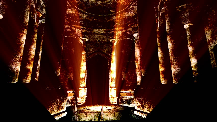 Mysterious Wizard Castle 3D render