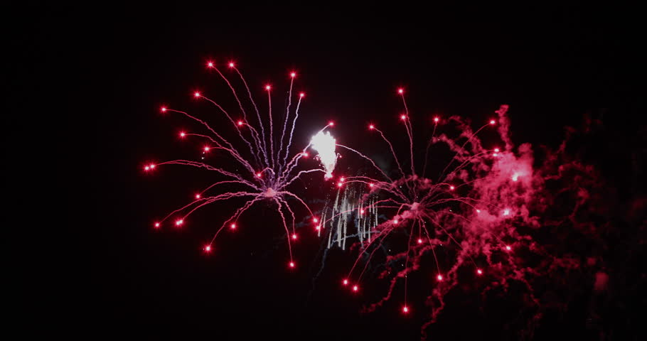 Different fireworks styles and colours | Shutterstock HD Video #20648026