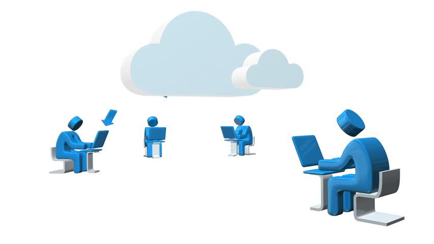 Cloud computing loop