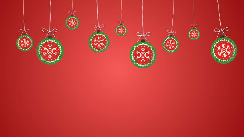 Christmas Decorations Background 8 Stock Footage Video 100 Royalty