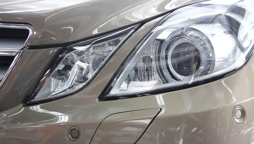 Car headlights | Shutterstock HD Video #2106650
