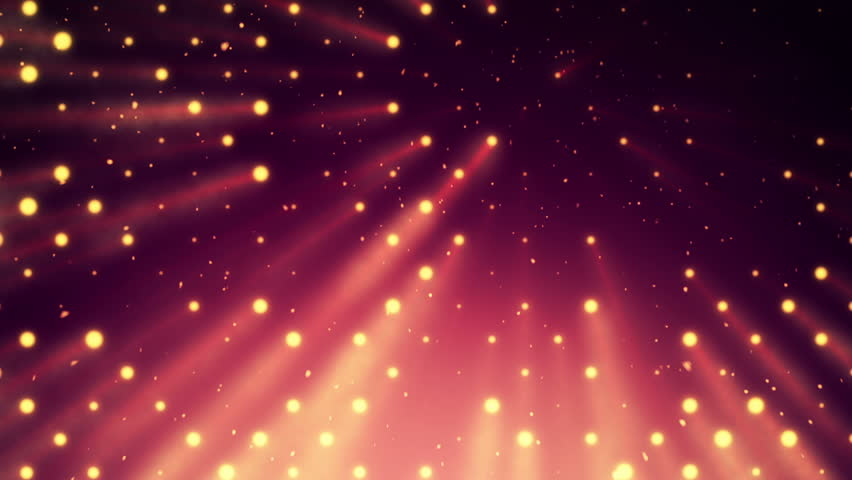 Abstract background with wall from lamps of bright light. Glowing and bright light bulbs. Projector of light rays. Animation of seamless loop. | Shutterstock HD Video #21158806