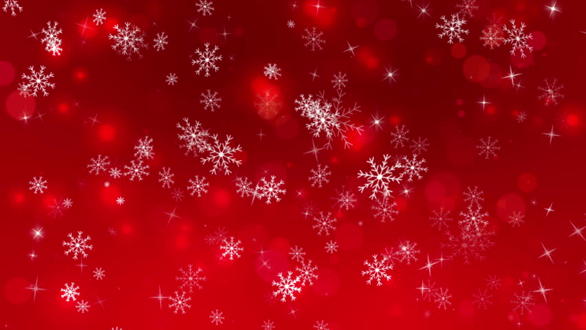 Christmas Red.Christmas Red Background With Snowflakes Stock Footage Video 100 Royalty Free 21266776 Shutterstock